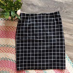 🖤 Amanda + Chelsea mini MOD plaid skirt 🖤